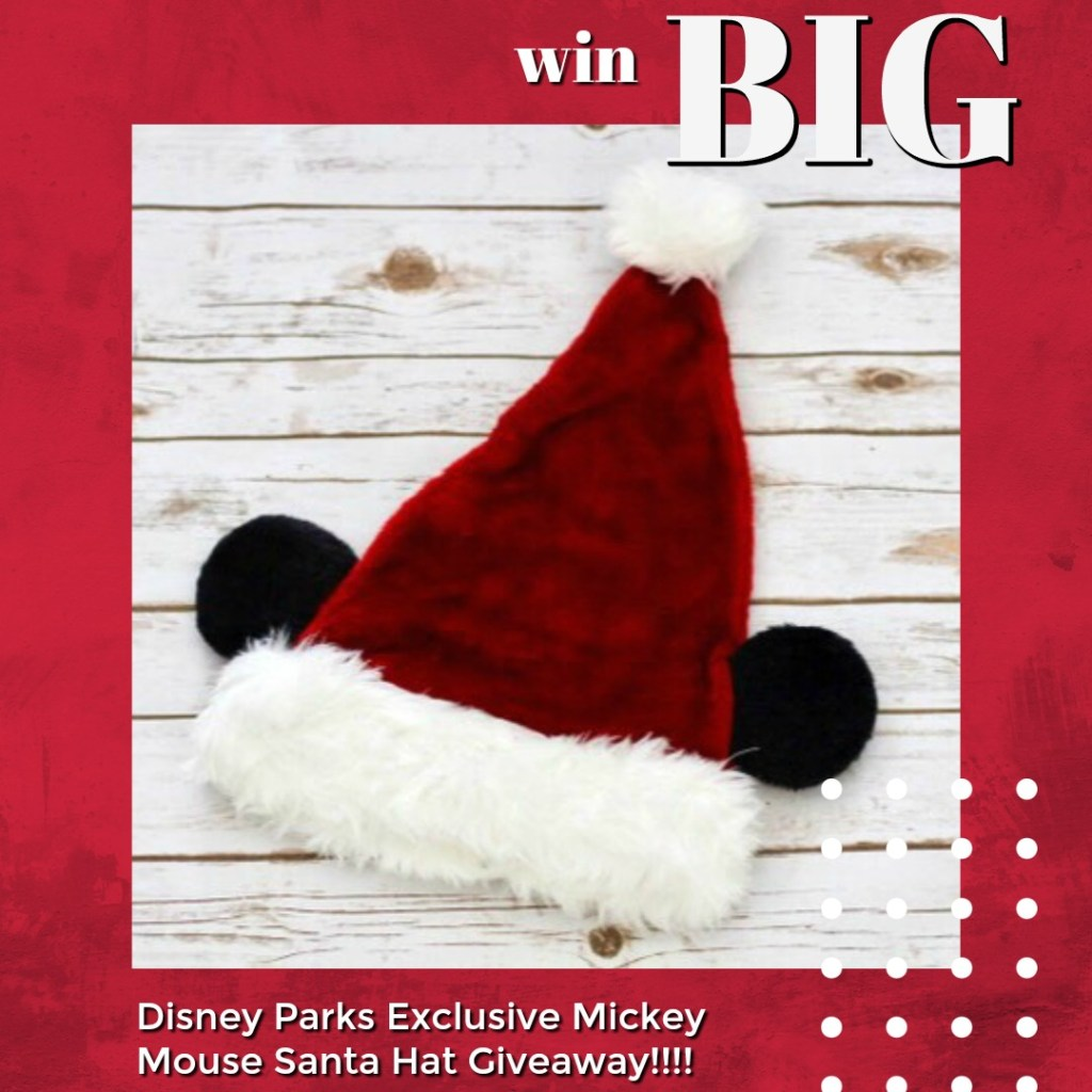 Win Big with Mickey Mouse Santa Hat