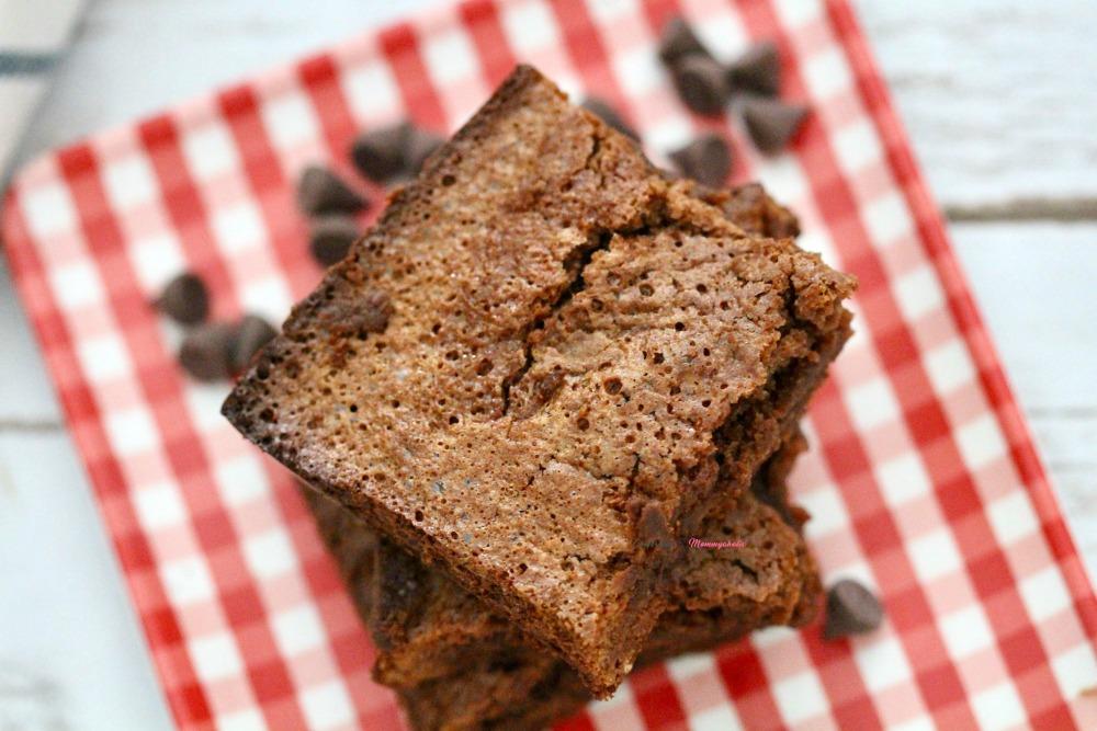 Gluten Free Double Chocolate Brownies Horizontal 2