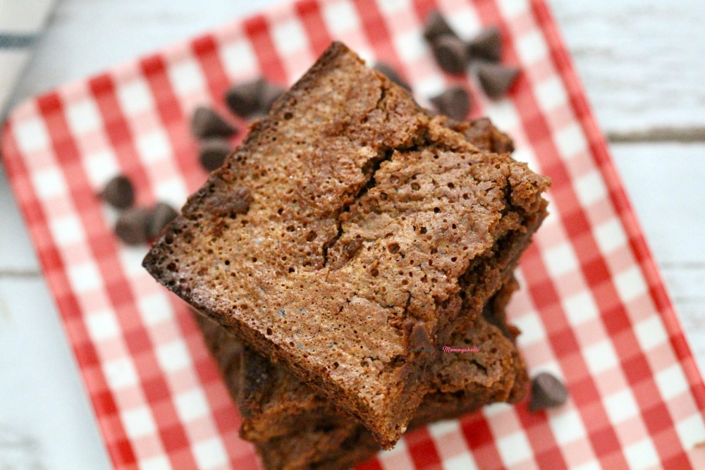 Gluten Free Double Chocolate Brownies Horizontal 2