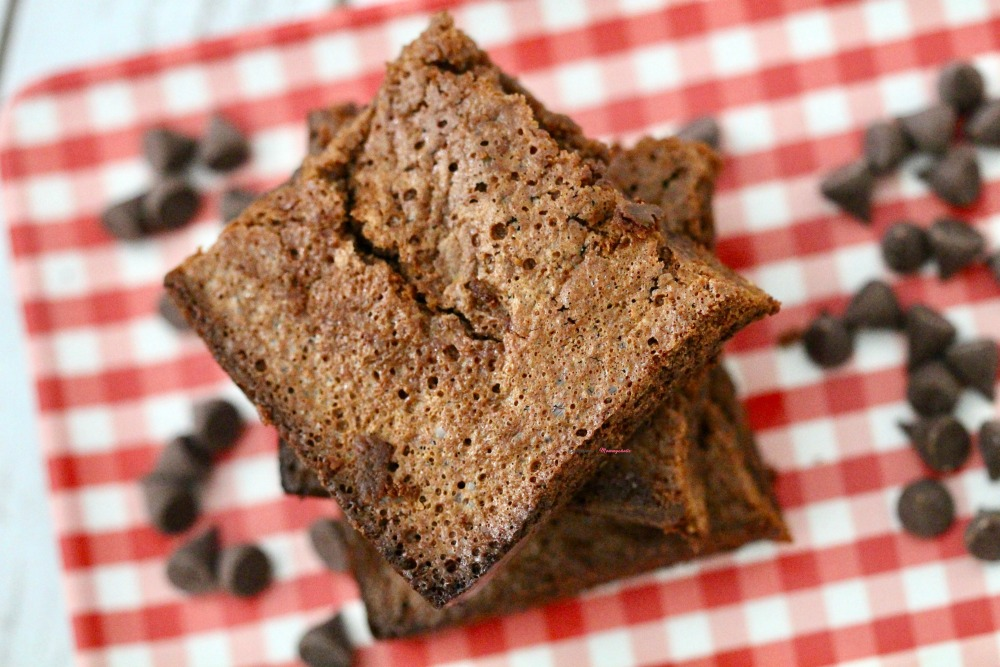 Gluten Free Double Chocolate Brownies Horizontal 3