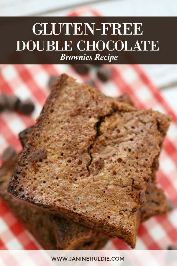 Gluten Free Double Chocolate Brownies Recipe Featured Image