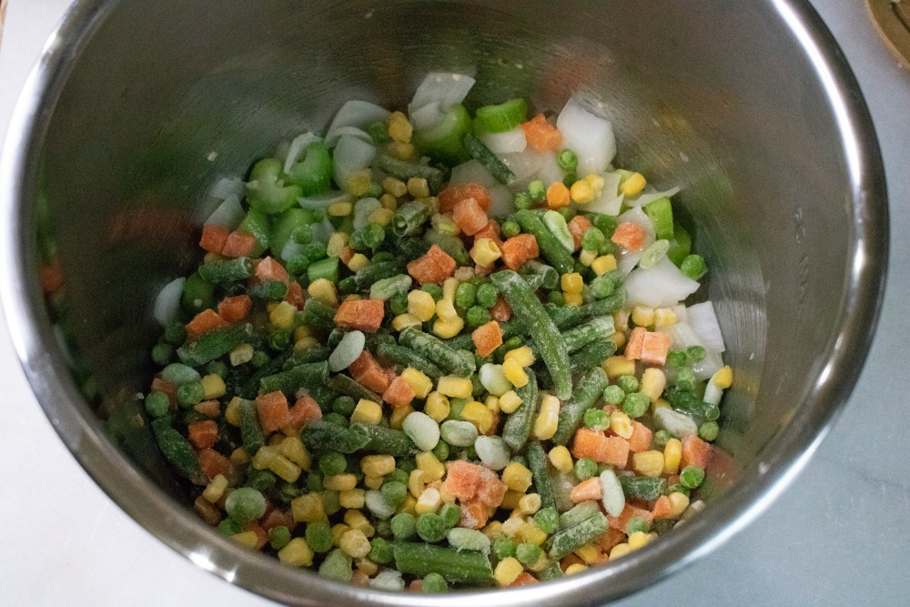 IP Turkey Vegetable Soup with Leftovers Recipe Step 5