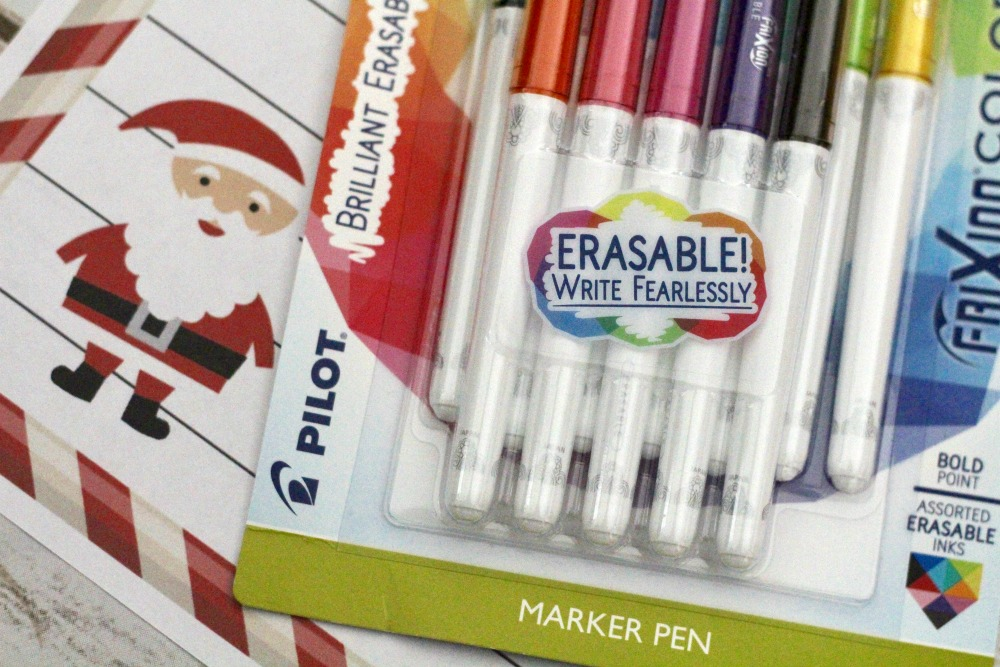 Pilot FriXion Erasable Write Fearlessly