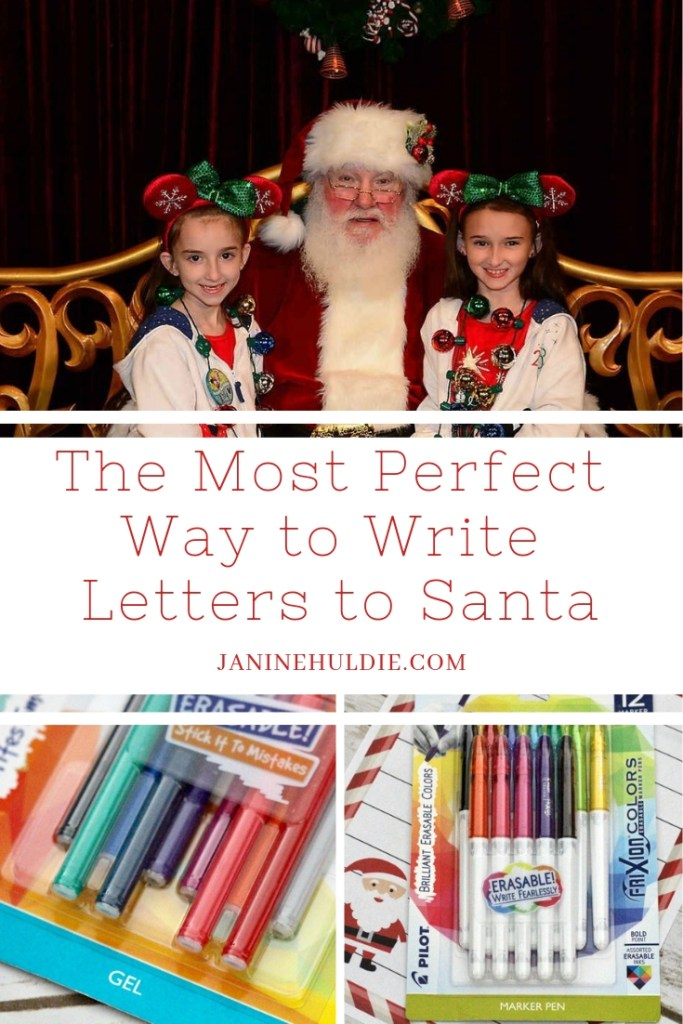 The Most Perfect Way to Write Letters to Santa!