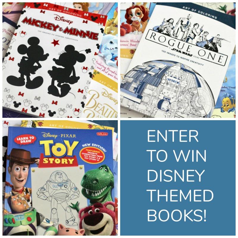 Enter to Win Disney Books