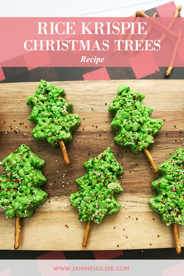 Rice Krispie Christmas Trees Recipe