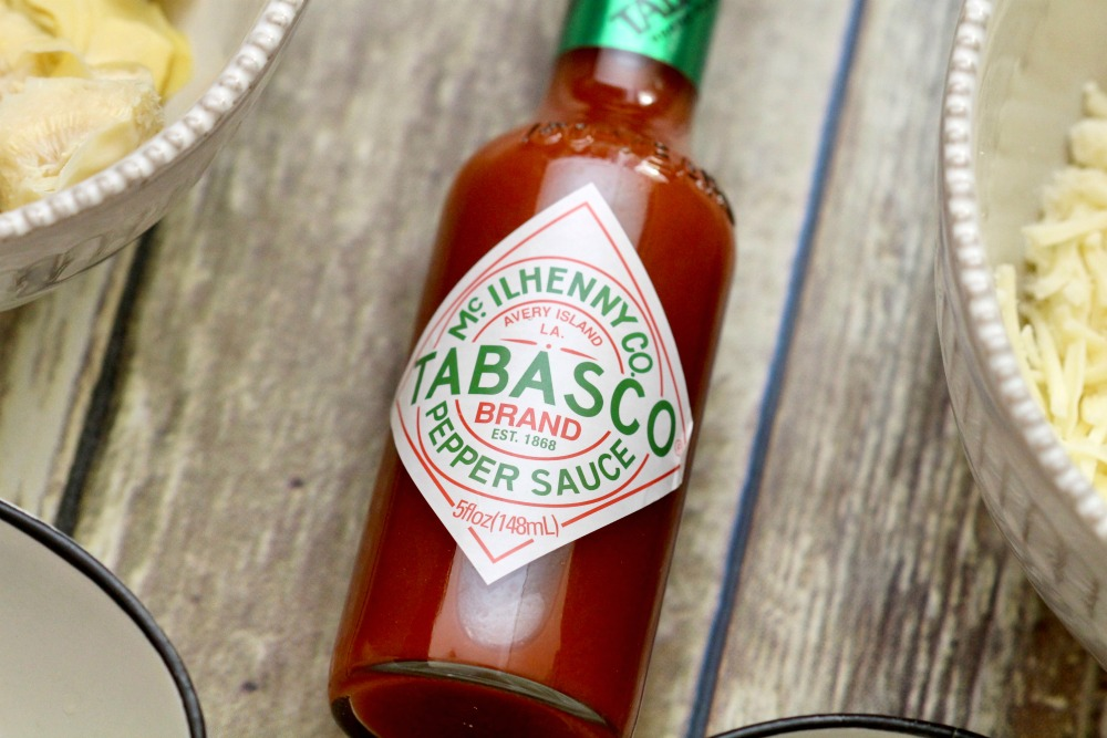 Tabasco Pepper Sauce Closeup 2