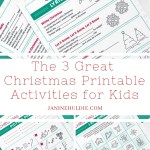 The 3 Great FREE Christmas Printable Activities for Kids
