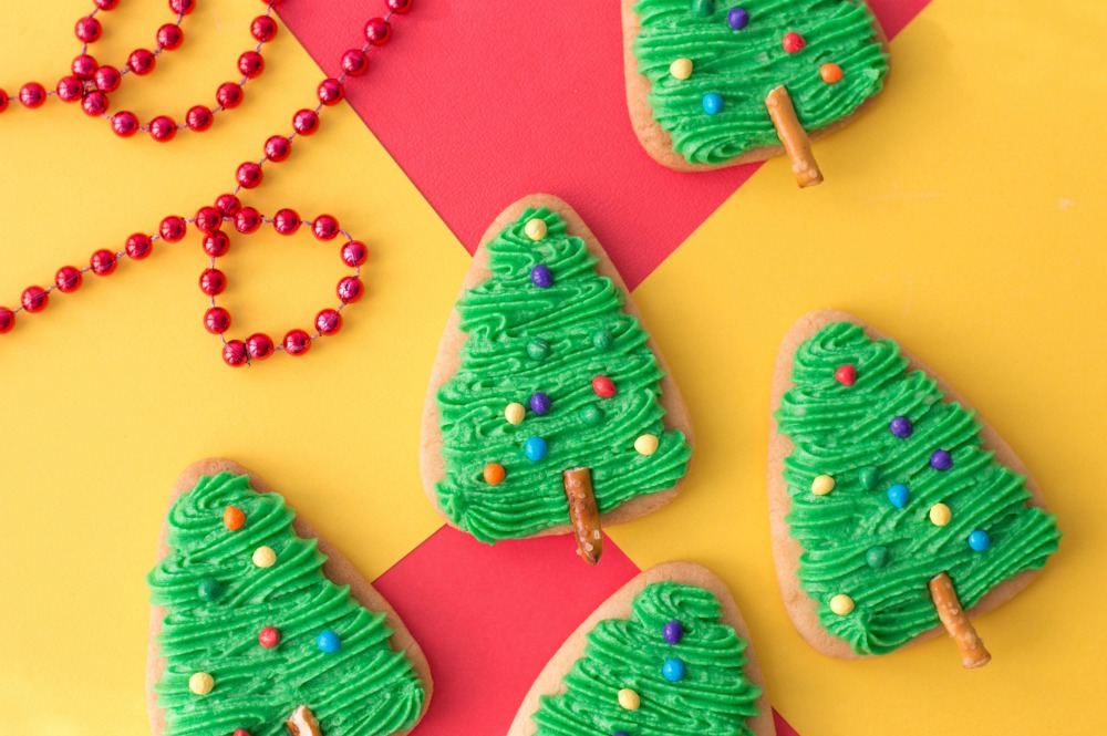 Christmas Tree Cookies, This Mom's Confessions