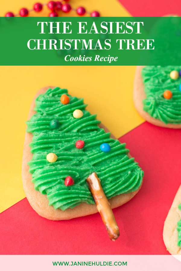 The Easiest Christmas Tree Cookies Recipe Featured Image