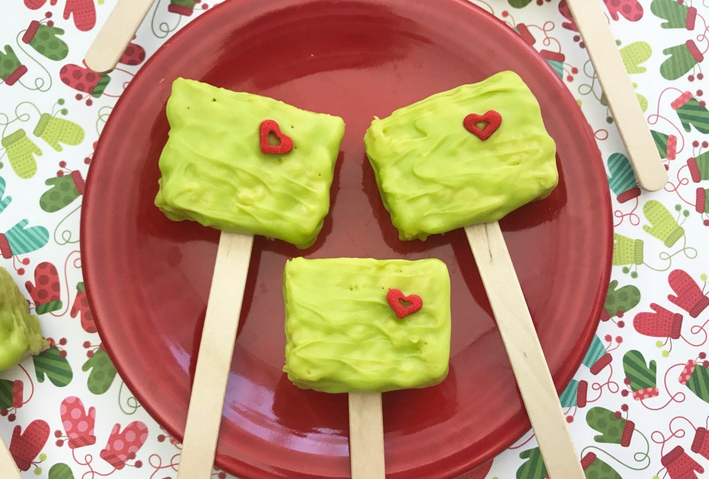 The Grinch Rice Krispie Treats Horizontal 1
