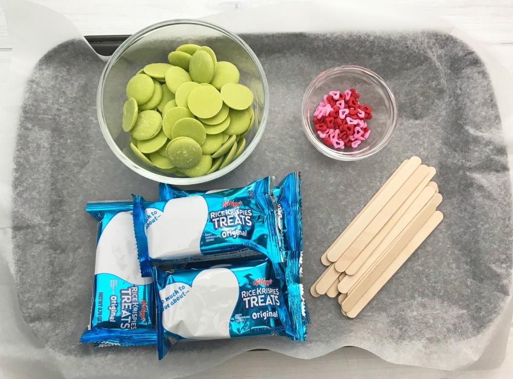 The Grinch Rice Krispie Treats Ingredients