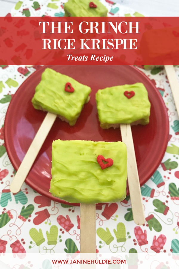 The Grinch Rice Krispie Treats Recipe