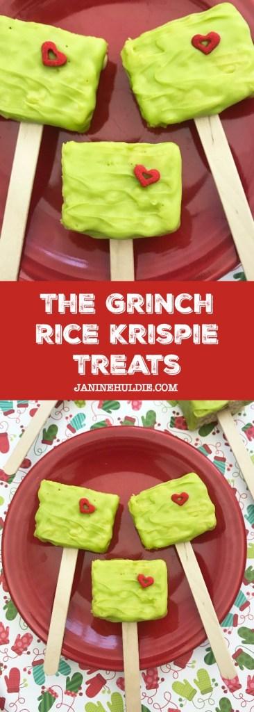 The Grinch Rice Krispie Treats Recipe