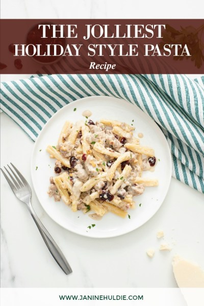 The Jolliest Holiday Style Pasta Recipe