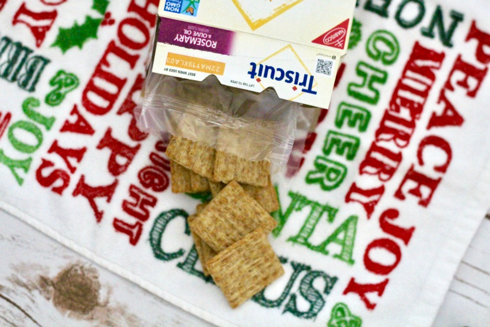 Triscuit Crackers Out of the Box