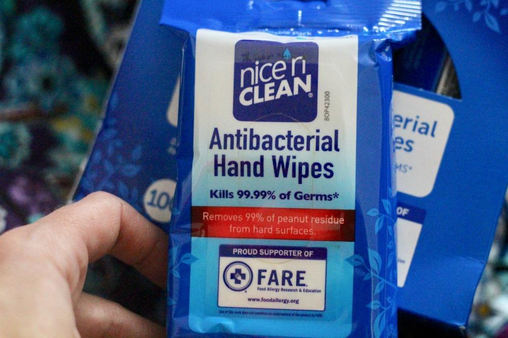 Nice n' CLEAN Wipes in Package Closeup