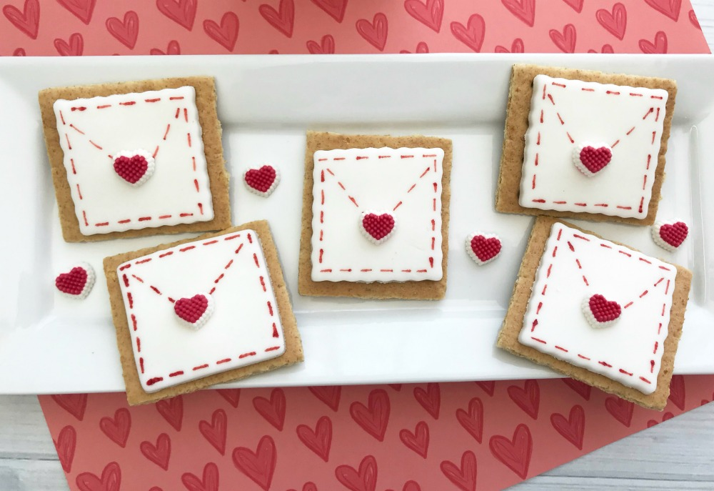 Be My Valentine Love Letter Envelope Horizontal 2