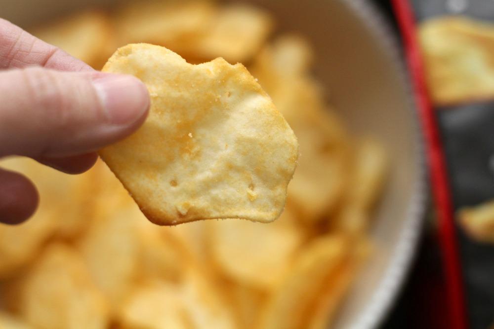 Closeup of RITZ Crisp and Thins Cracker