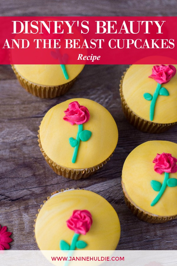 Disney Beauty and the Beast Cupcakes Recipe