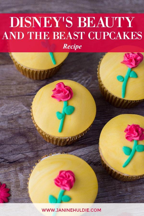 Disney Beauty and the Beast Cupcakes Recipe