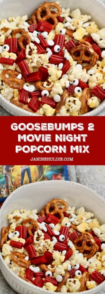 Goosebumps 2 Popcorn Mix Recipe