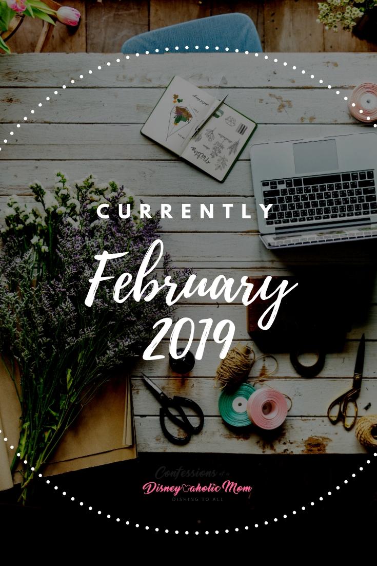 Currently February 2019