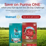 Purina ONE 28-Day Challenge at Walmart SAVE NOW!!