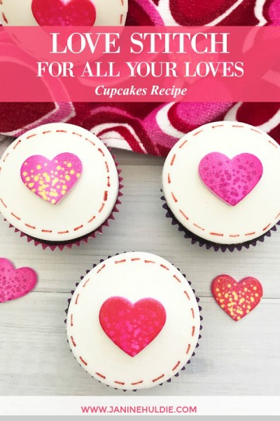 Love Stitch Cupcakes For All Your Loves Recipe