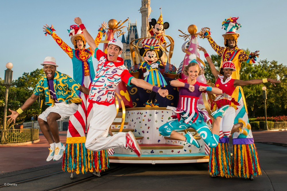 Walt Disney World's Magic Kingdom Move It! Shake It! Mouskedance It!