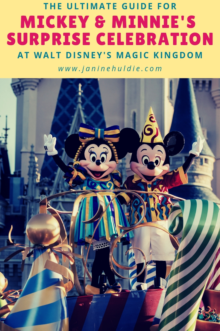 The Ultimate Guide for Mickey & Minnie's Surprise Celebration