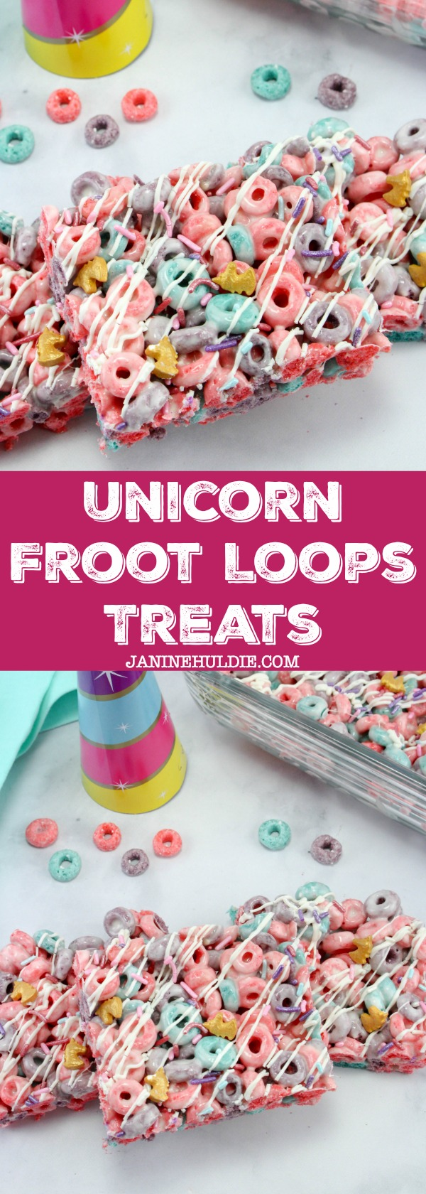 Unicorn Froot Loops Treats, This Mom's Confessions