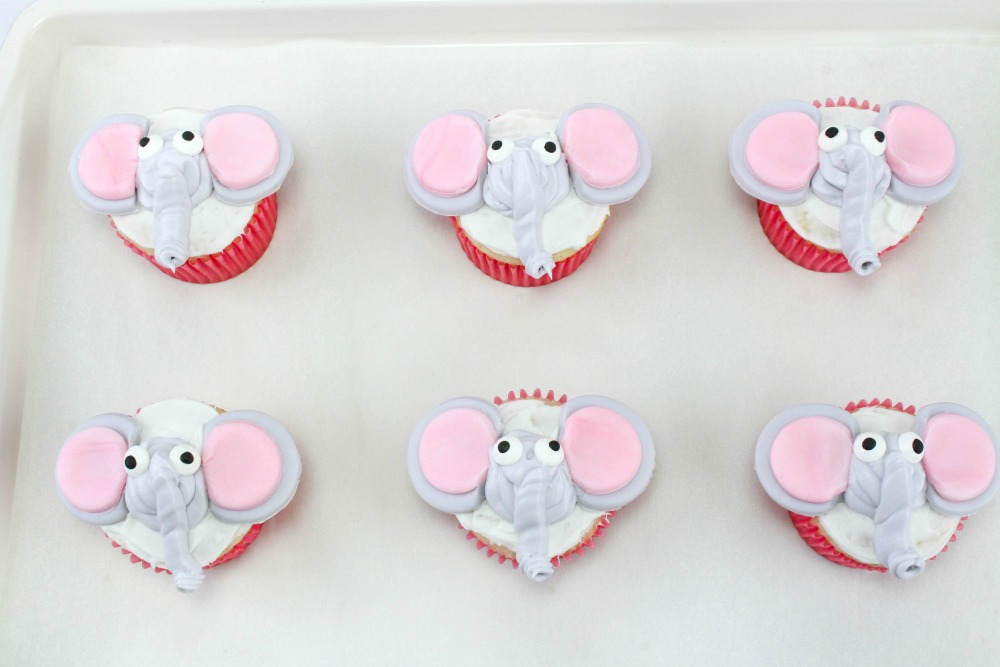 Disney Inspired Dumbo Cupcakes In Process 9