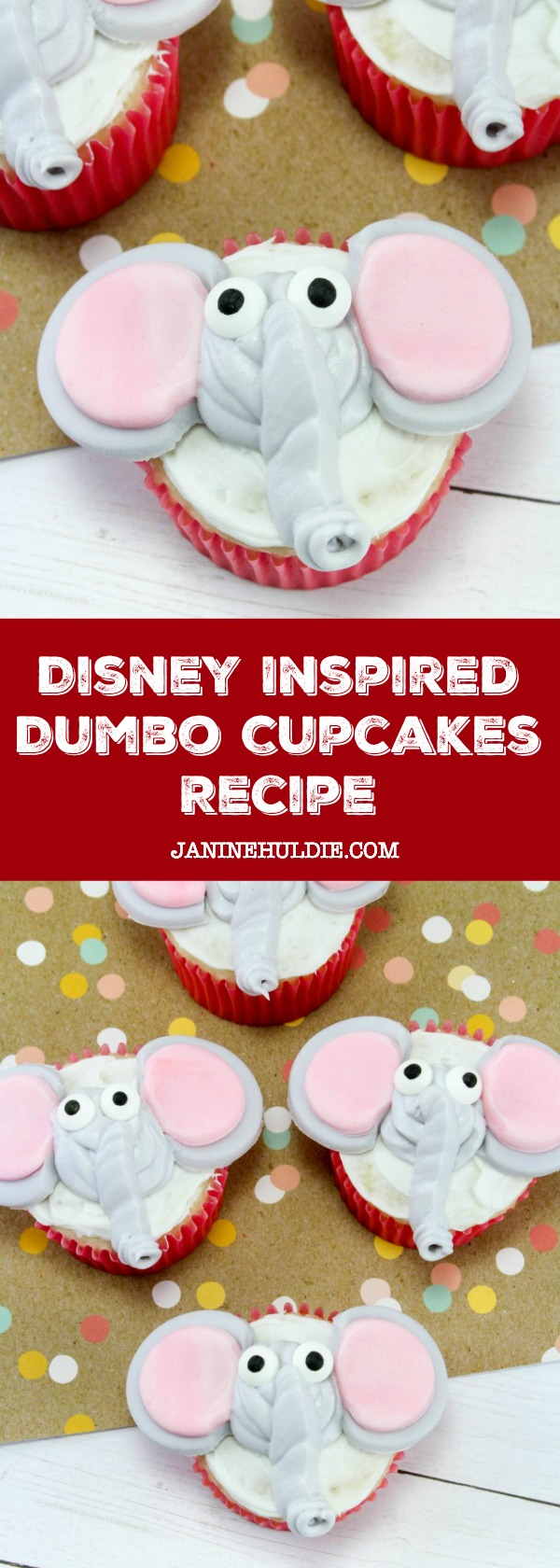 Disney Inspired Dumbo Cupcakes Recipe