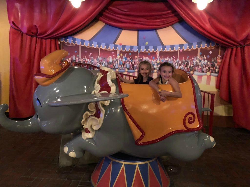 Dumbo Ride Photo Opp