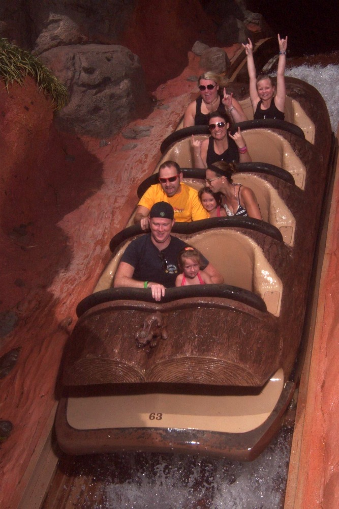 Splash Mountain circa 2015
