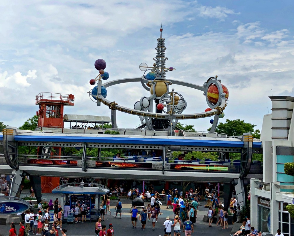 Magic Kingdom Tomorrowland People Mover