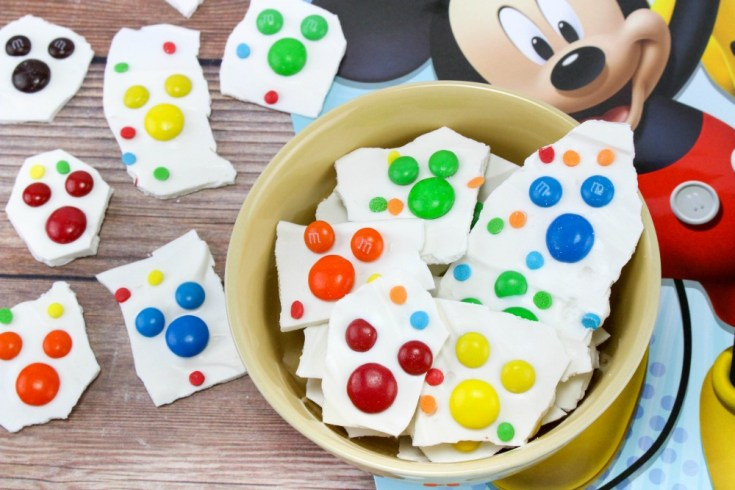 Mickey Mouse Bark Candy Recipe Final 2