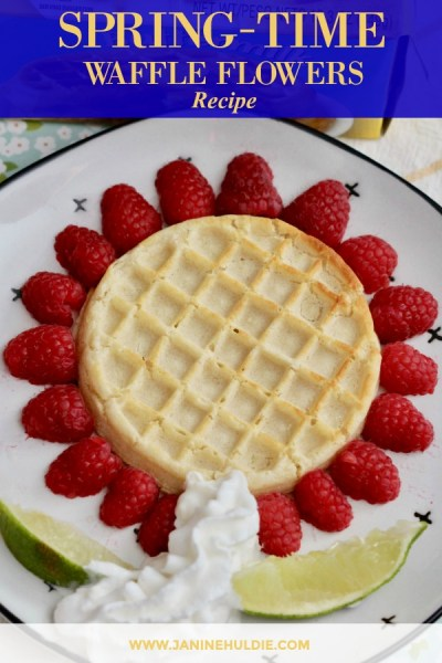 Spring Time Waffle Flowers Recipe