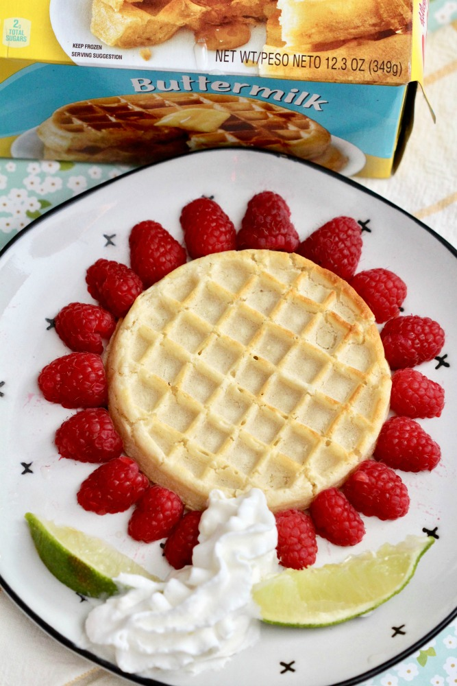 Spring Time Waffle Flowers