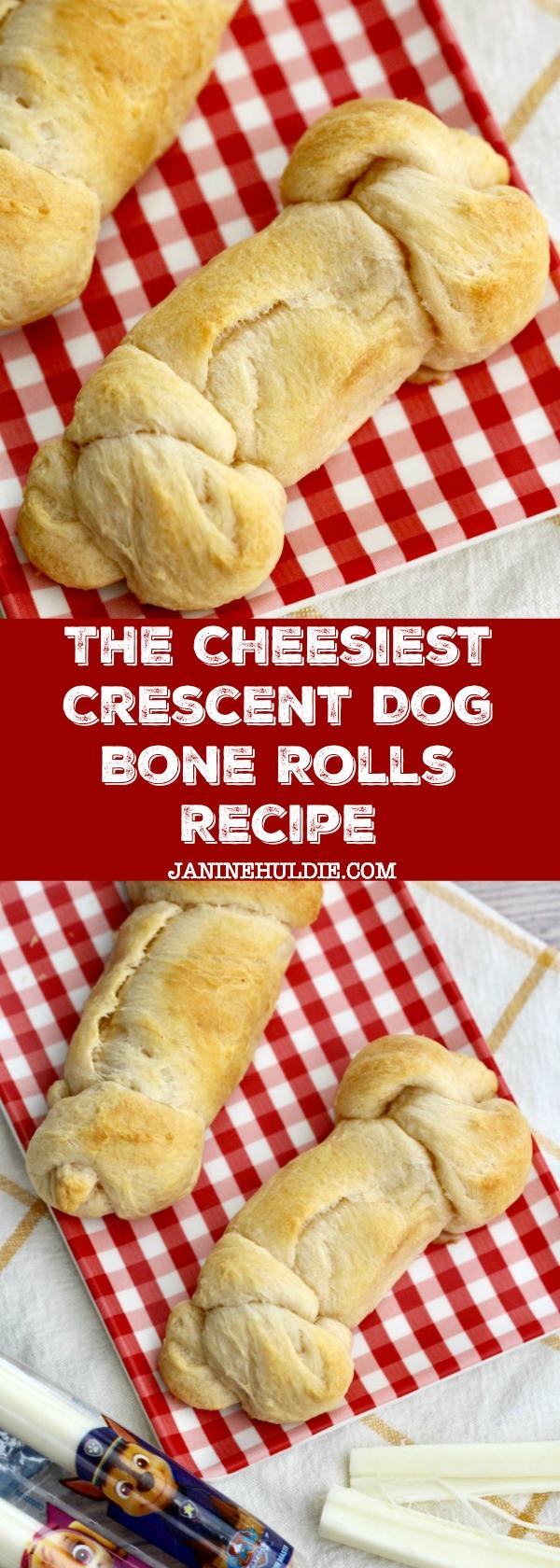 The Cheesiest Crescent Dog Bone Rolls Recipe