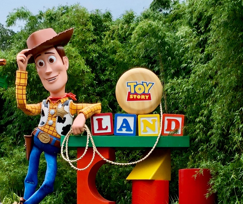 Toy Story Land Intro Sign