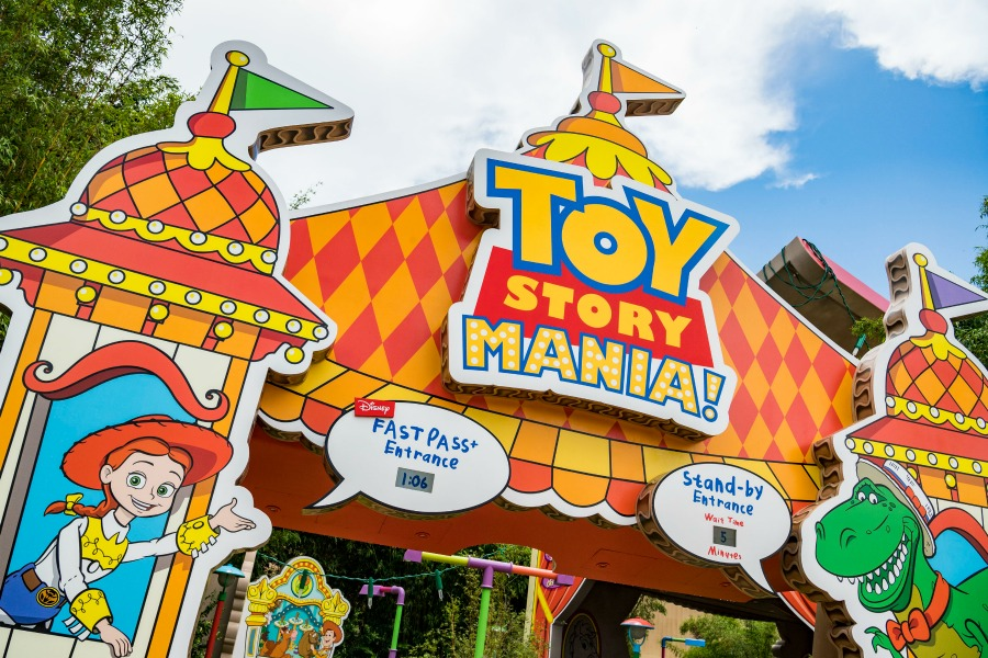 Toy Story Mania