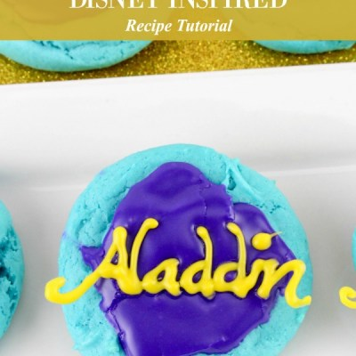 Disney Inspired Aladdin Cookies Recipe Featured Image