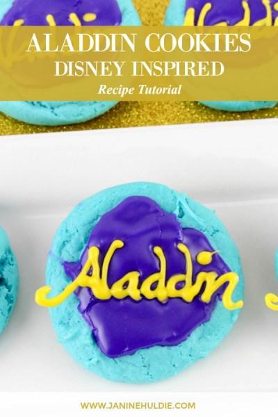 Disney Inspired Aladdin Cookies Recipe Featured Image