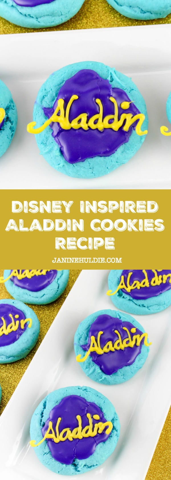 Disney Inspired Aladdin Cookies Recipe