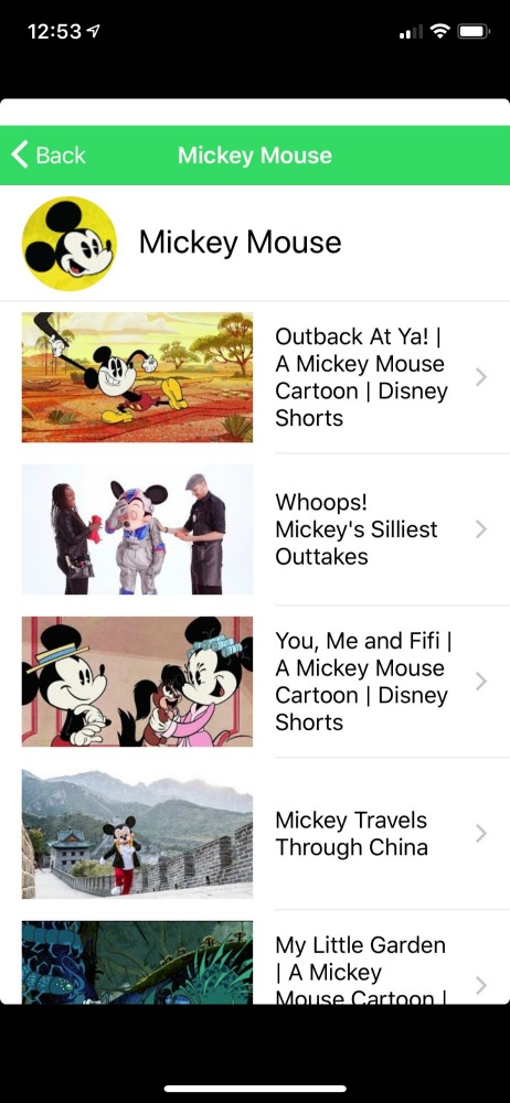 Our Favorite Channel Mickey Mouse