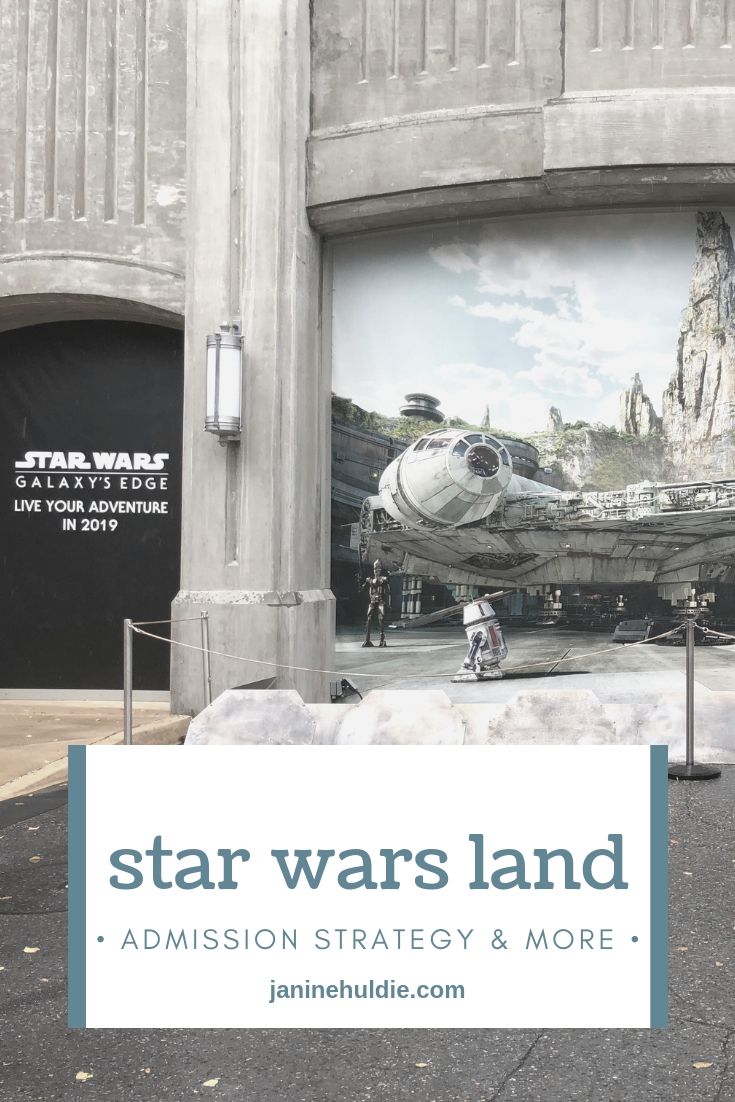 Star Wars Land Admission Strategy and More