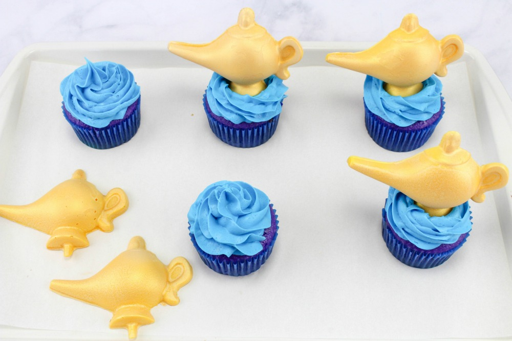 Disney Aladdin Cupcakes In Process 5