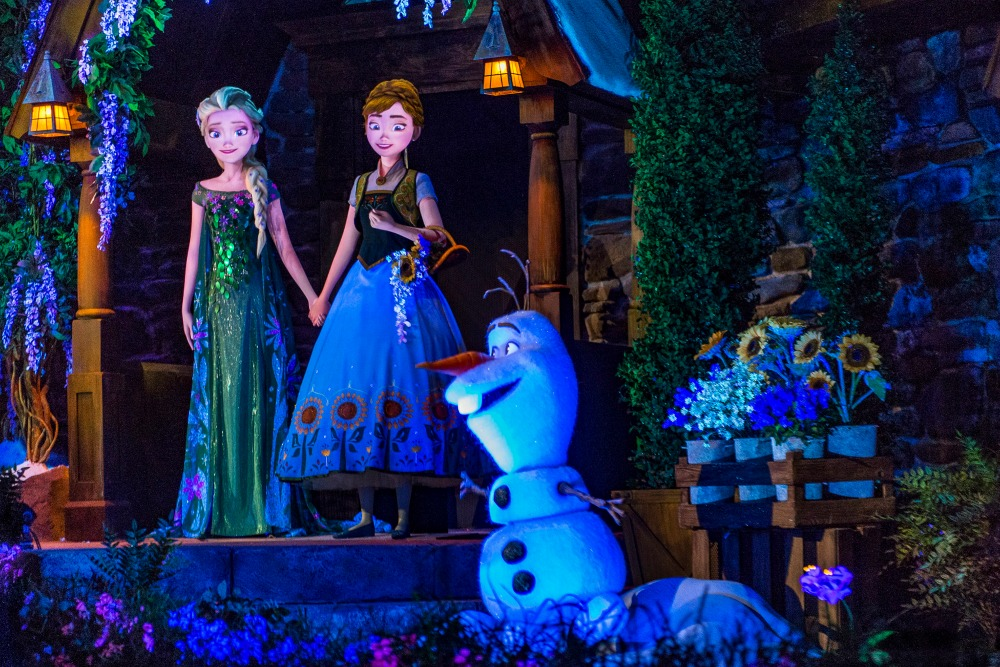Frozen Ever After from Disney Parks News